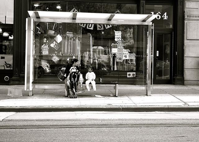 Bus Stop Joy